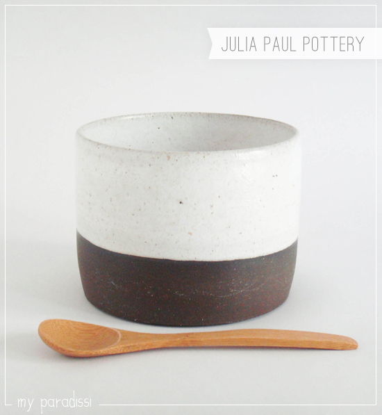 Contemporary tableware and artful home decor by Julia Paul Pottery on Etsy.