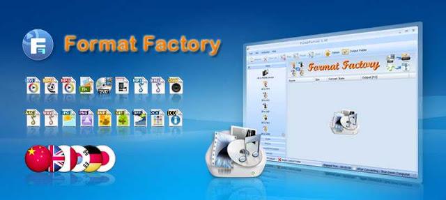تحميل برنامج format factory بالعربي