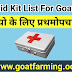 15 Medication For Goat-First Aid Kit