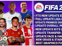 NEW!! FTS Mod FIFA 22 Graphics FULL HD New Update Overral Transfer & Kits 2021/2022