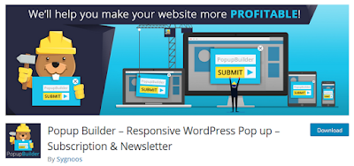 Popup Builder Plugin for Wordpress