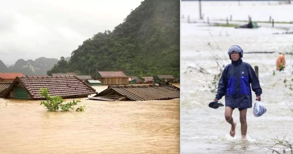 100 Dead And 100,000 Displaced In Vietnam After The Worst Flooding And Cyclones In Decades