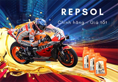 Các loại nhớt xe máy Repsol tốt nhất