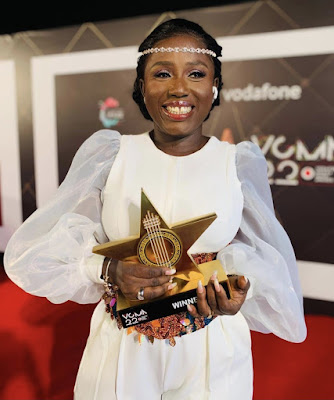 VGMAs22: Gospel Musician, Diana Hamilton Wins Artiste Of The Year 2021 [Check Full List Of Winners & Watch Red Carpet Moments]