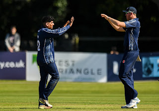 Netherlands vs Scotland 5th Match Tri-Nation T20I Series 2019 Highlights