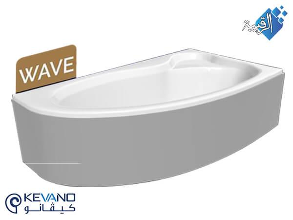 بانيو كيفانو/ ويف أبيض بالجانب 150×80 سم