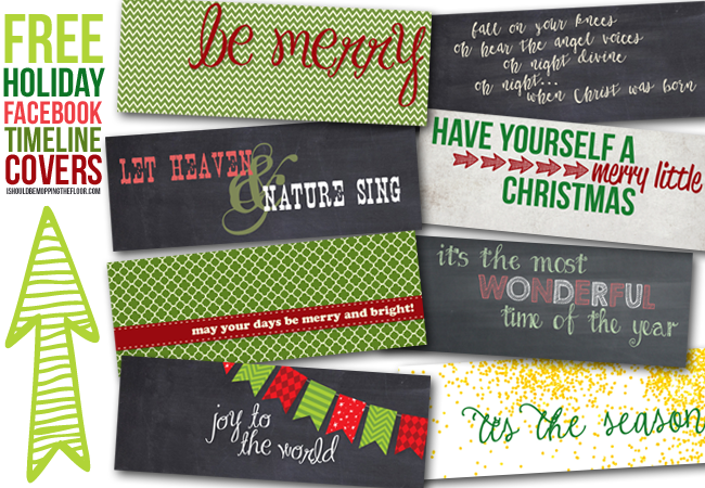 Free Holiday Facebook Timeline Covers