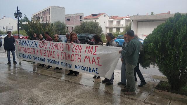 Συνδικάτο Τροφίμων Αργολίδας: 6 Μάη απεργούμε - Η κυβέρνηση καταργεί το 8ωρο είναι ώρα ευθύνης και αγώνα