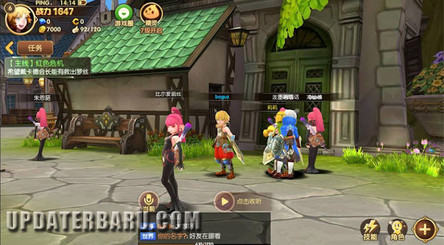 download game Dragon Nest Awake Mobile 龙之谷手游 APK Rilis Versi Terbaru