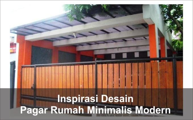 Inspirasi Desain Pagar Rumah Minimalis Modern Arsimedia