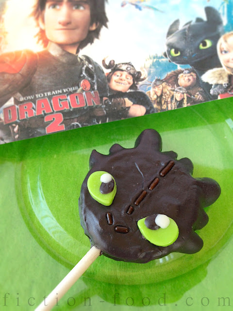 Fiction Food Caf 233 Toothless Cookie Pops For Quot How To Train