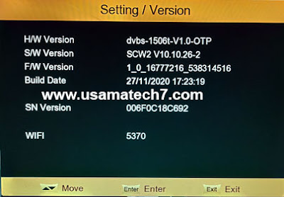 ONE STAR X3 1506t 4MB Receiver New Software