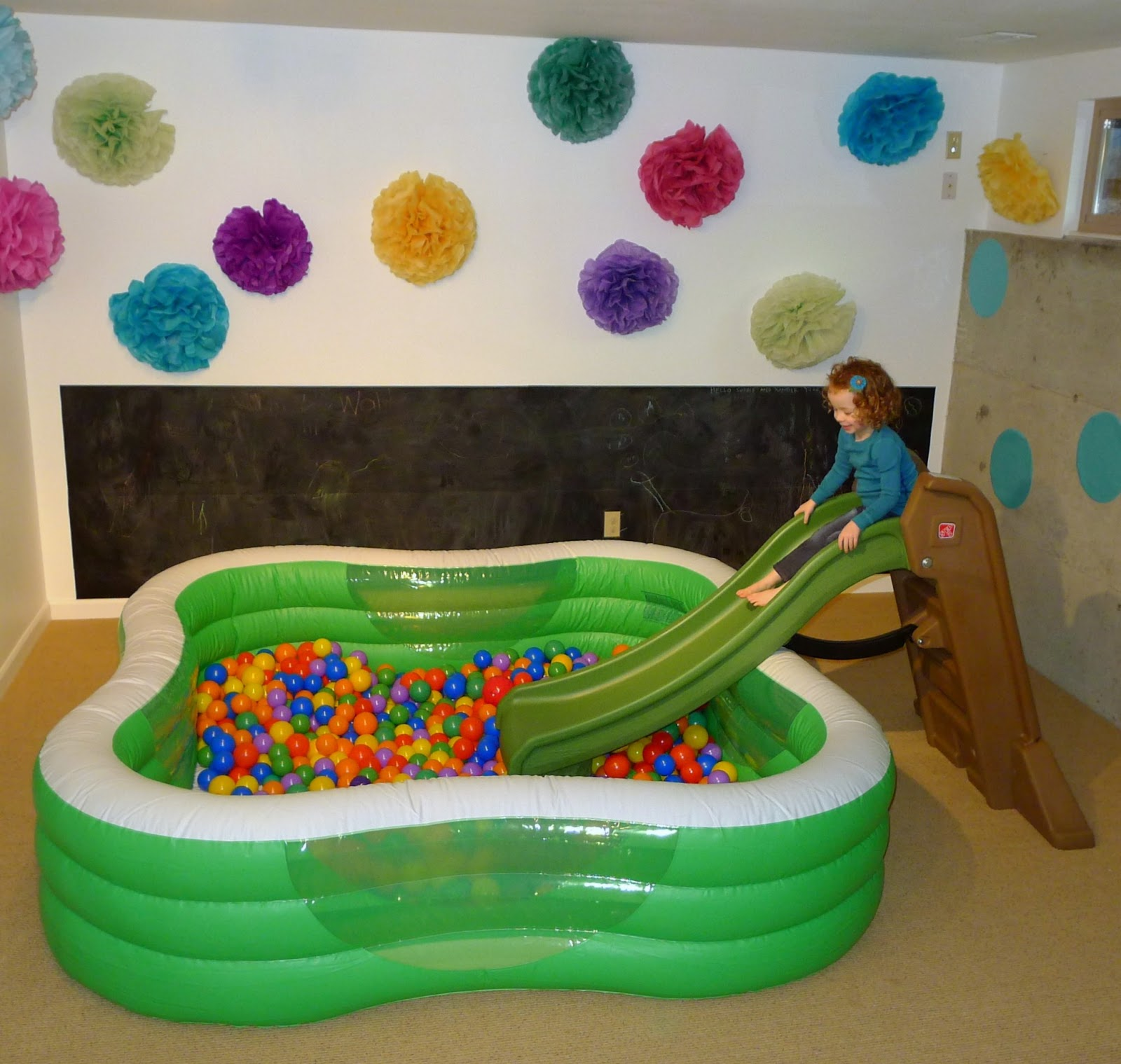 Cool Things To Put In A Basement: Playroom Design: Our Art Room