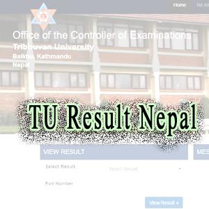 Published TU Result 2077 Nepal