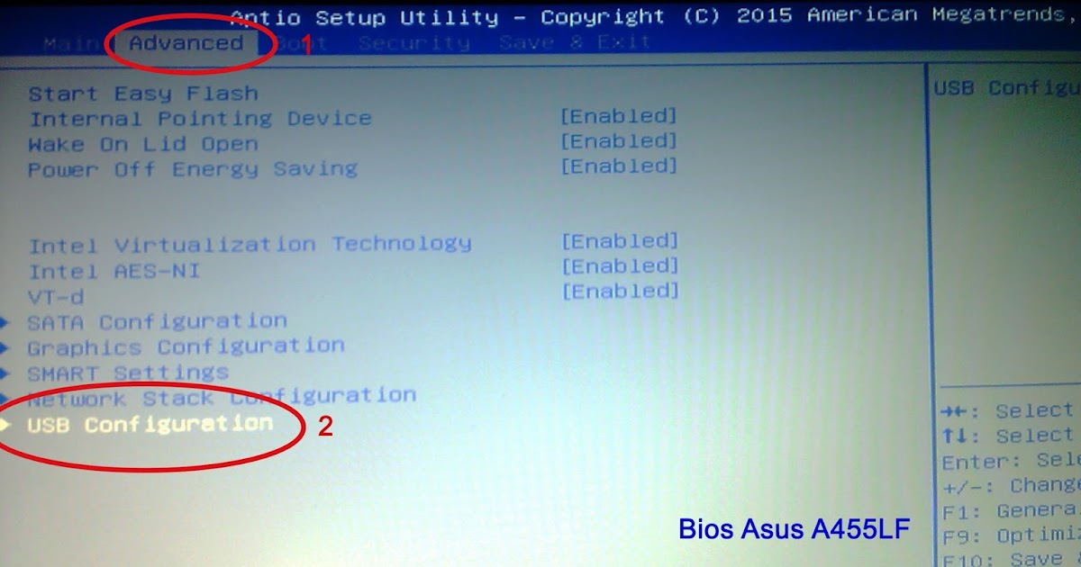 install windows 7 64bit di asus a455l