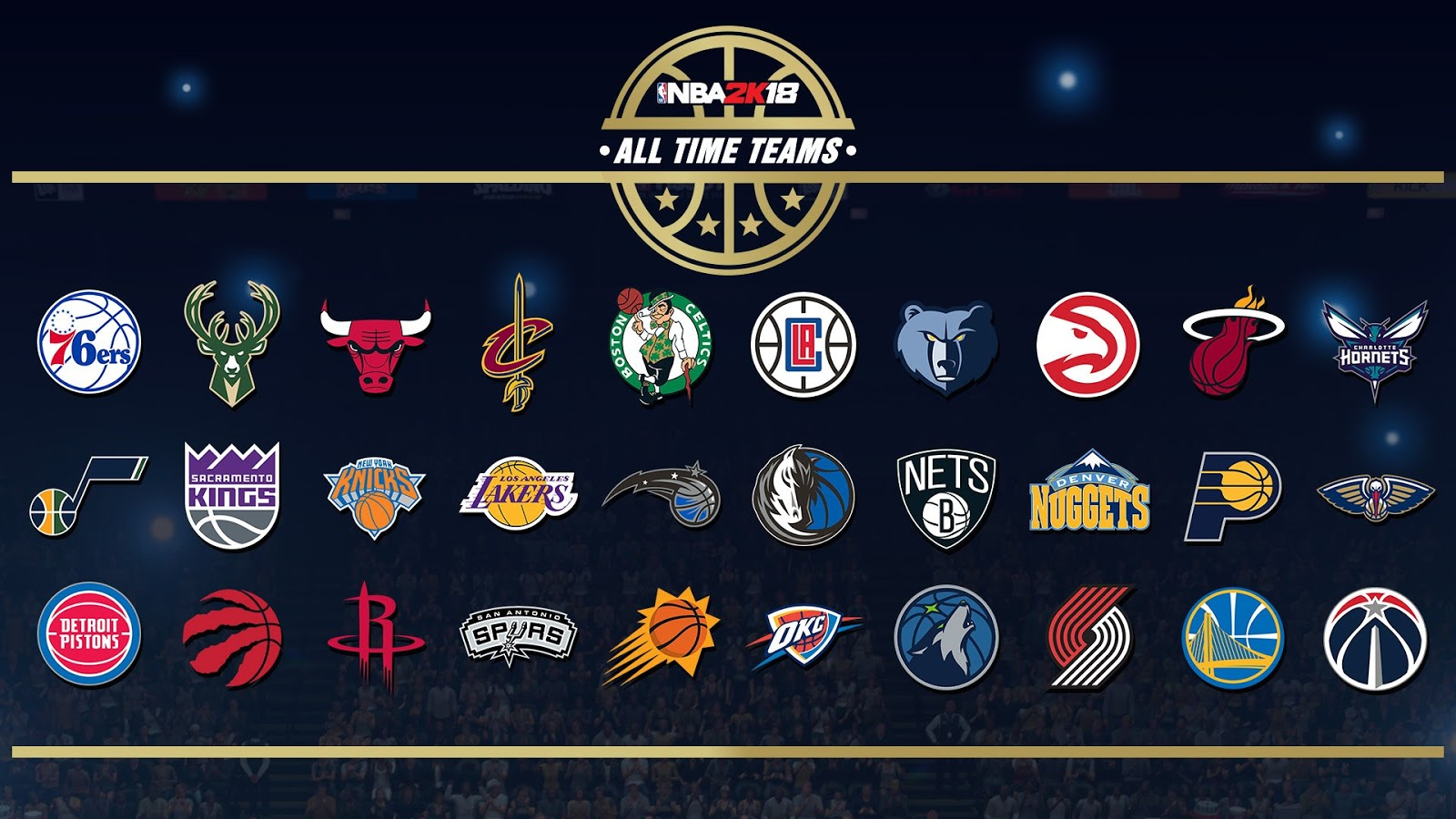 NBA 2K18 To Include All-Time Teams For All 30 Franchises ...