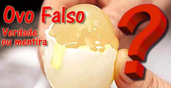 Ovos de plástico falsificados - Verdade ou mentira- Capa