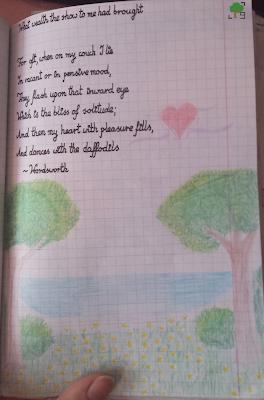 Daffodils, Wordsworth, strona 2