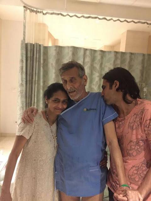 विनोद खन्ना को कैंसर की बीमारी ने कितना बदल दिया, देखें हॉस्पिटल की PHOTO
