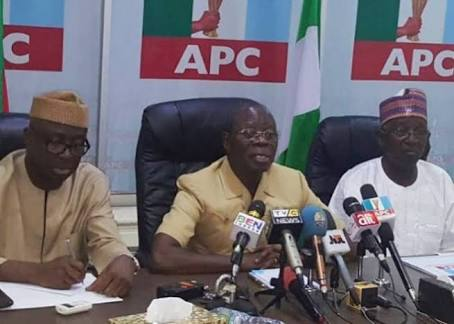 I'm Happy They've Left APC With Their Troubles - Oshiomhole