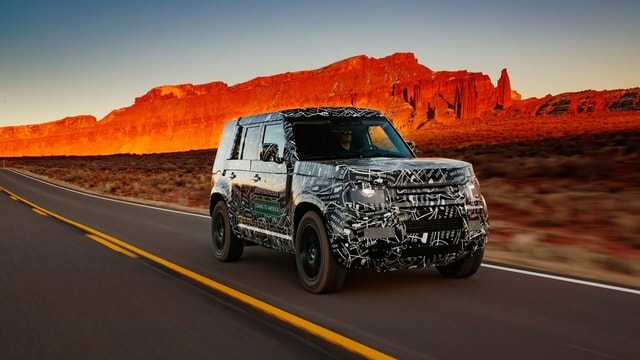 Land Rover Defender and over 1.2 million km of driving tests!