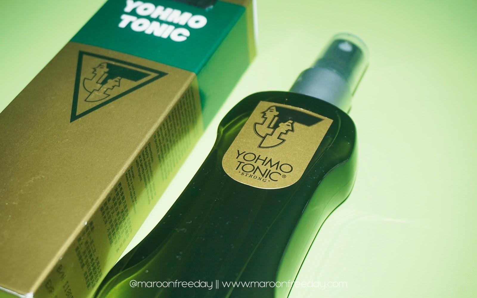 Review Yohmotonic Hair Tonic Untuk Rambut Rontok