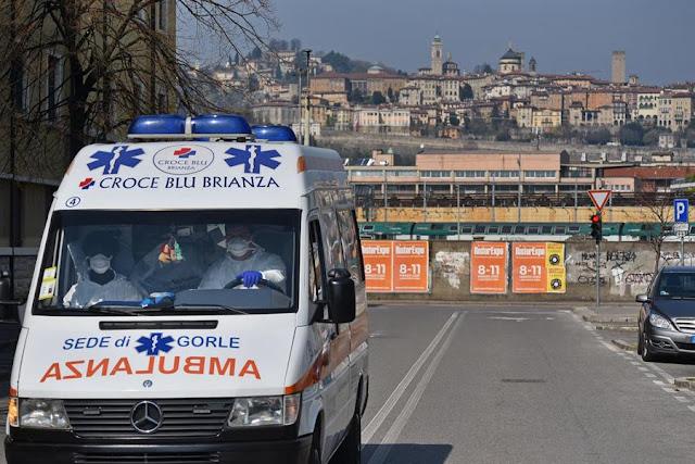 Itália registra quase mil mortes em um dia