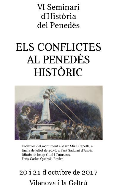 Esguard de Dona - VI Seminari d'Història del Penedès - Vilanova i la Geltrú, 20 i 21 d'octubre de 2017