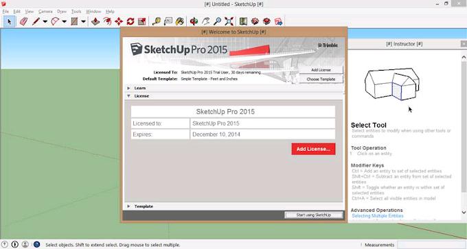 Free Download Sketchup 2015 Full Crack