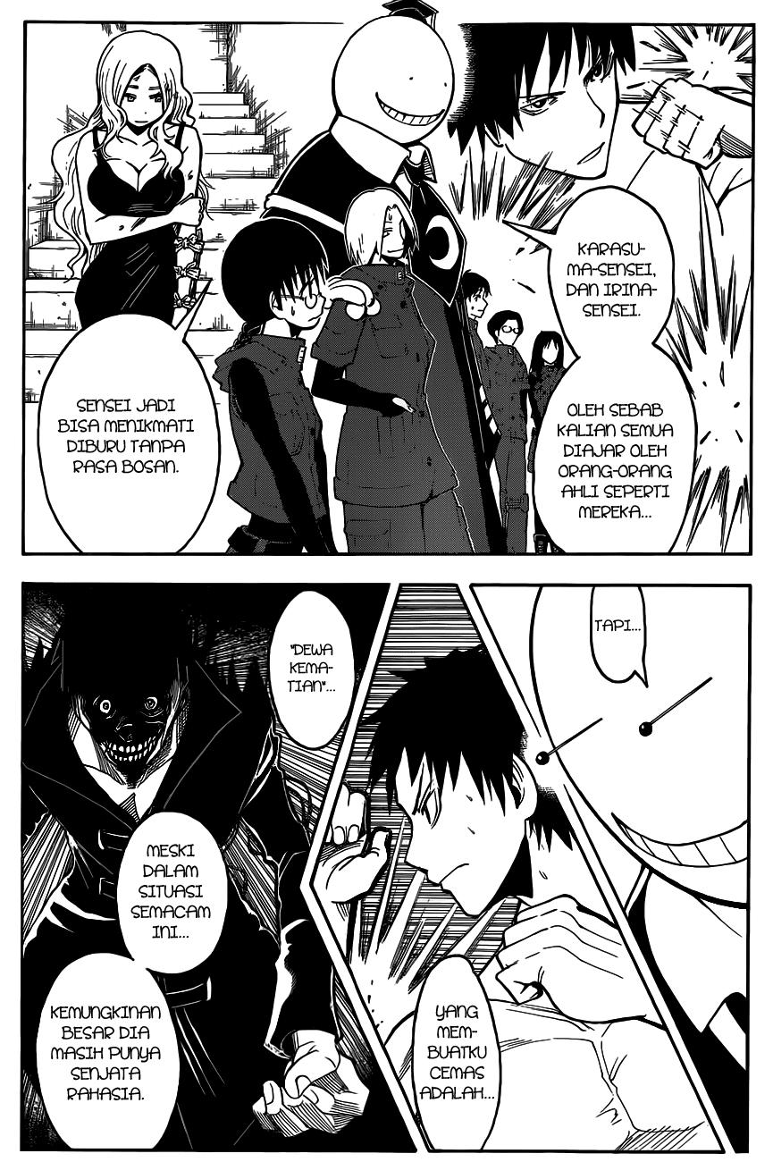 Komik assassination classroom 109 - waktunya dewa kematian jam ke 9 110 Indonesia assassination classroom 109 - waktunya dewa kematian jam ke 9 Terbaru 6|Baca Manga Komik Indonesia|