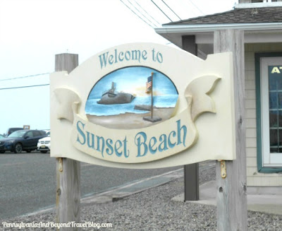 Sunset Beach in Cape May New Jersey