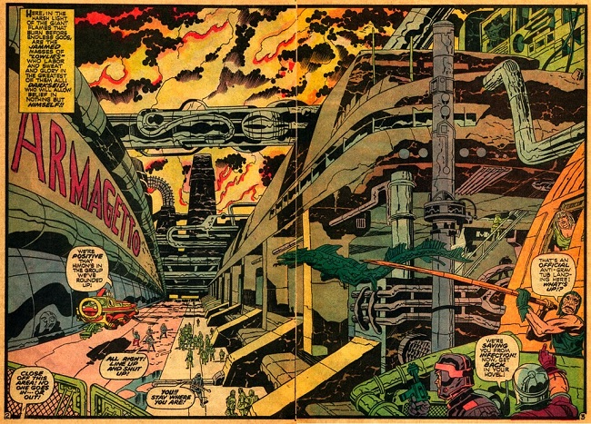 Illustration by Jack Kirby