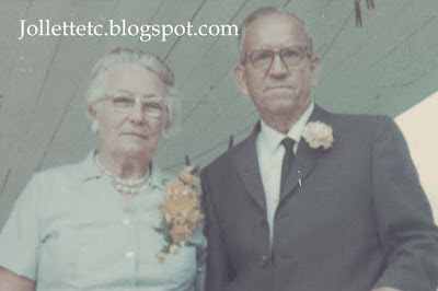 Russ and Hattie Kohne 1967 https://jollettetc.blogspot.com