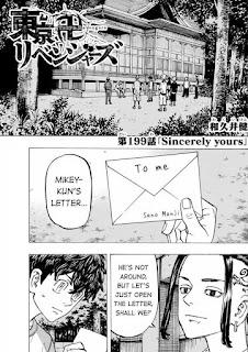 Read Tokyo Revengers Manga Chapter 199 English