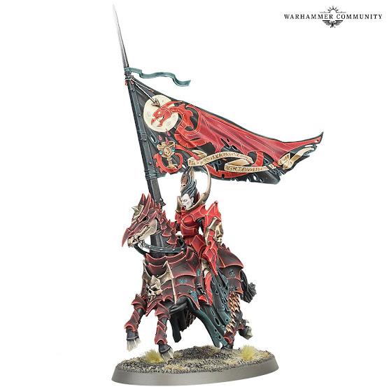 portaestandarte Blood Knights