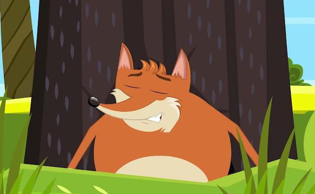 قصة الثعلب الجائع