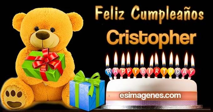 Feliz Cumpleaños Cristopher