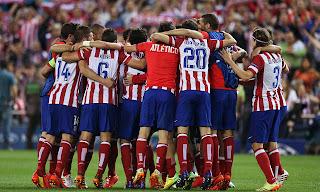 Atletico Madrid Ungguli Bayern Munich, Leg Pertama LIGA CHAMPION