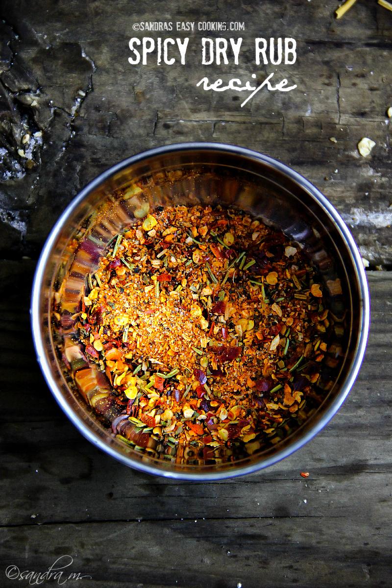 Spicy Dry Rub #recipe