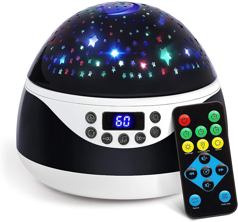 45%OFF Star Projector Sleep Helper with Light Patterns and Lullabies