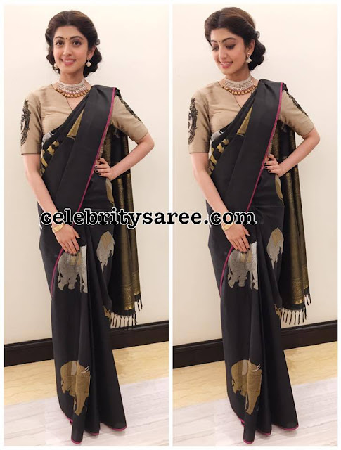 Pranitha Subhash at Mysore Fashion Week