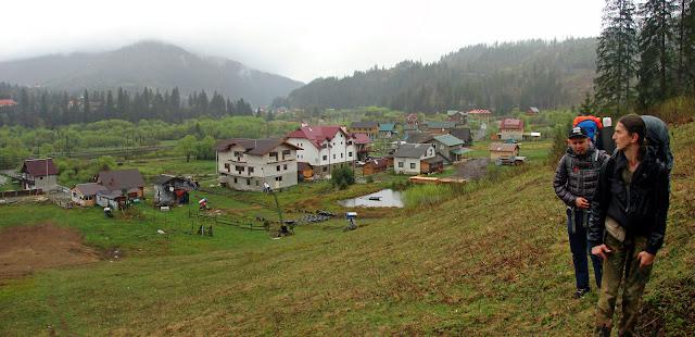 Начало подъёма на гору Погар