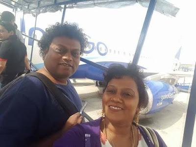 Sadhu Kokila with sister Usha Kokila
