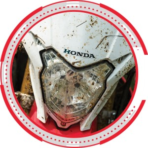 COMPACT HEADLIGHT NEW HONDA CRF150L 2018 Sejahtera Mulia Cirebon