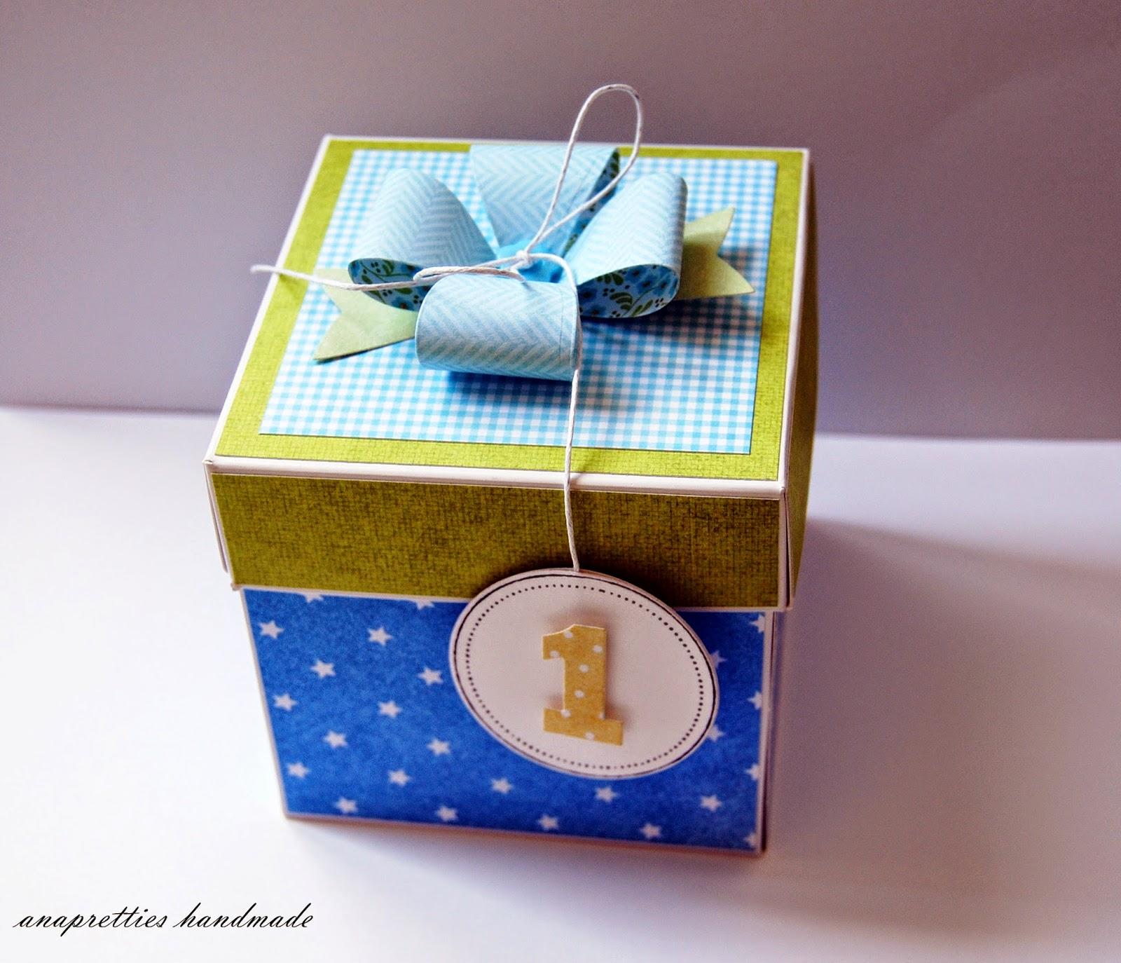 box na roczek dla bliźniaków
