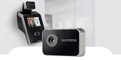 Control de accesos facial Suprema FaceStation 2 con cámara térmica