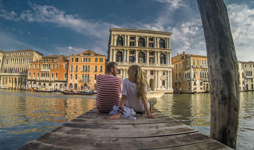 Relaxed in Venice, Italy - We Visited Over 50 Countries With Our Van Spending Only $8 A Day