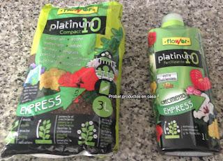 Flower Platinum10 el cuidado de las plantas