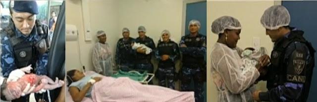 Jovem dá à luz dentro de uma viatura da Guarda Municipal de Belém (PA)