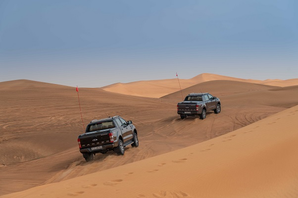 Ford MEA Desert Driving Tips